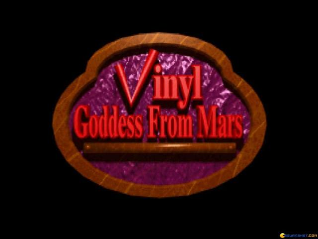 Vinyl Goddess from Mars - title cover