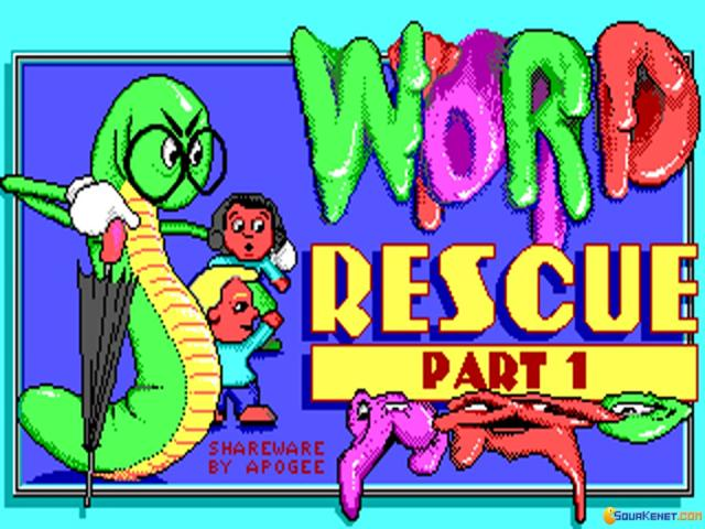 Word Rescue 1 - title cover