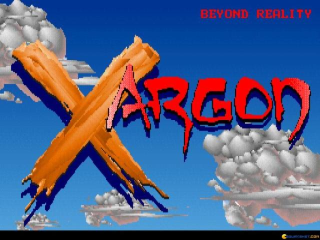 Xargon - title cover