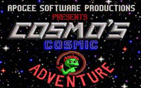 Cosmo's Cosmic Adventure - title cover