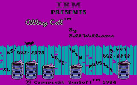 Alley Cat - title cover