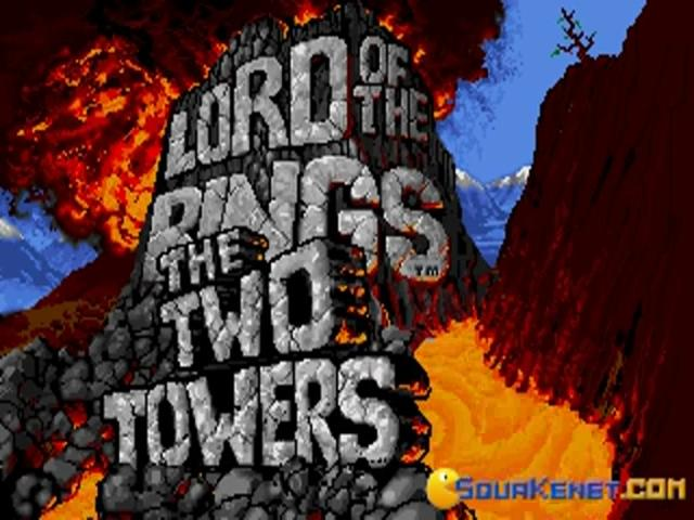 Lord of the Rings 2 - Two Towers - title cover