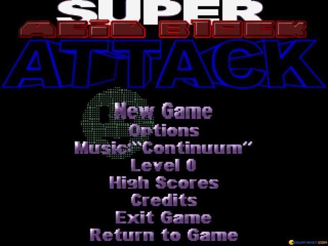 Acid Tetris - game cover