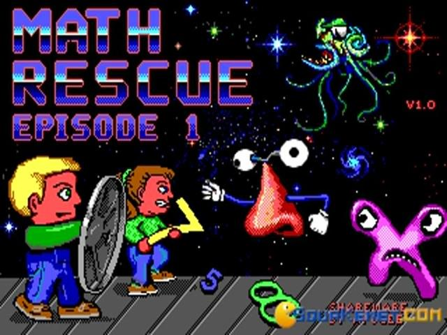 Math Rescue - title cover