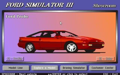 Ford Simulator 3 - title cover