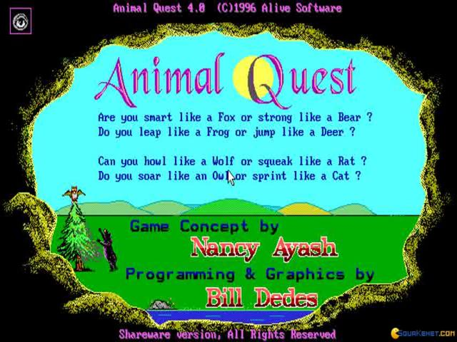 Animal Quest - game cover