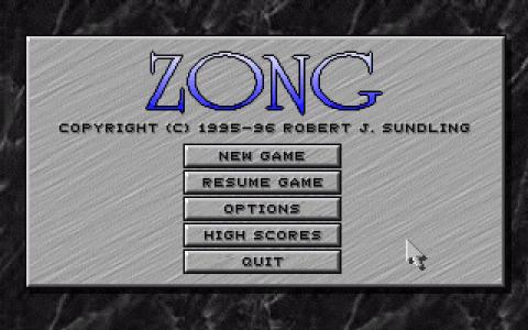 Zong - title cover