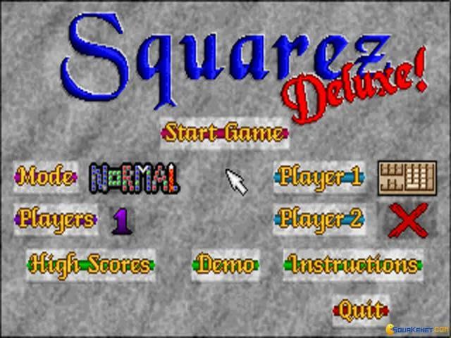 Squarez - title cover