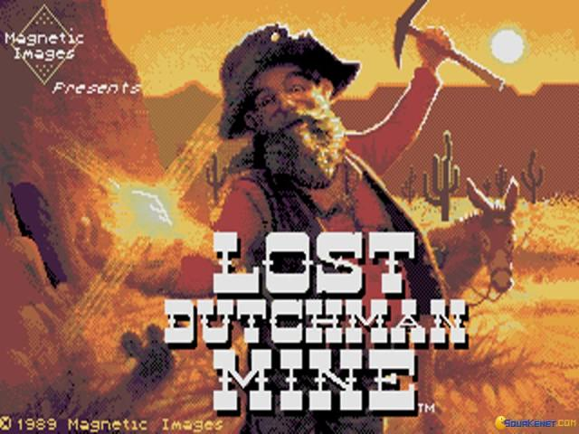 Lost Dutchman's Mine - title cover