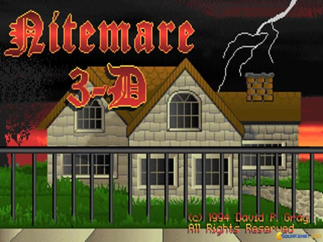 Nitemare 3D - title cover