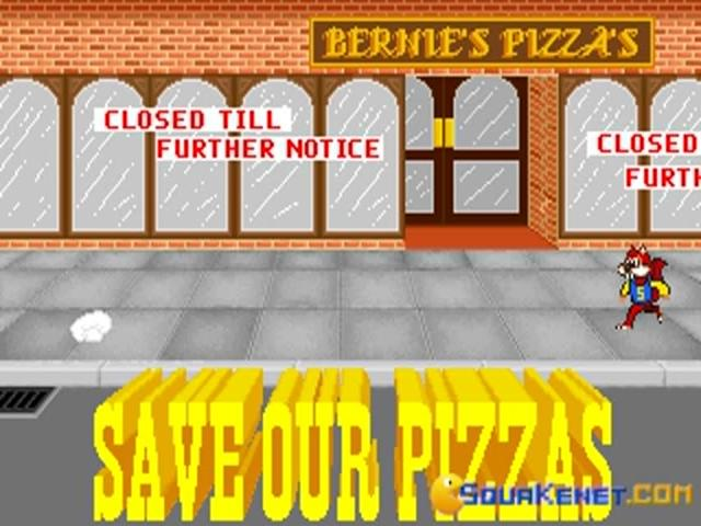 Skunny - Save our Pizzas - game cover