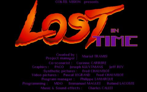 Lost in time - game cover