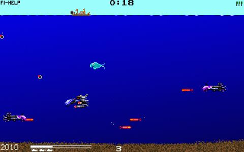 Submarine Fury - game cover