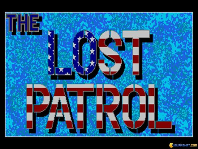 Lost Patrol - title cover
