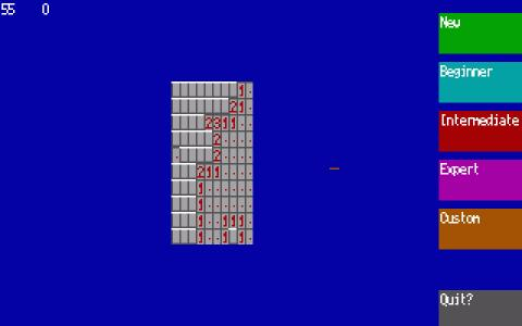 Minesweeper - title cover