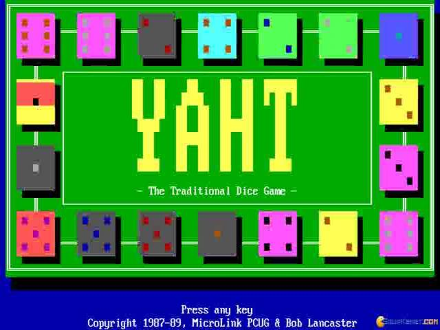 Yaht - game cover
