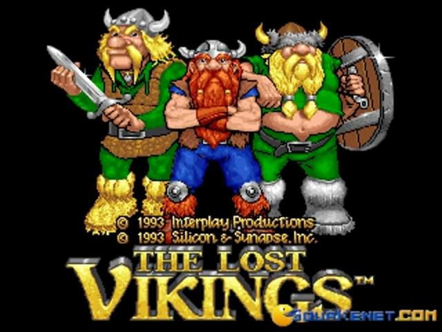 The Lost Vikings - title cover