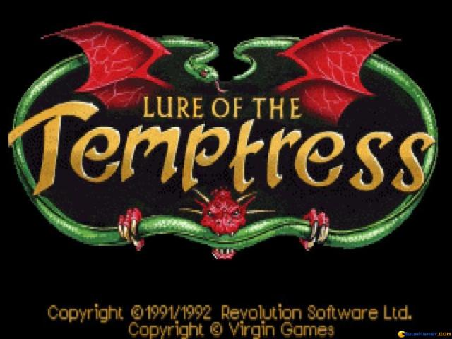 Lure of the Temptress - title cover