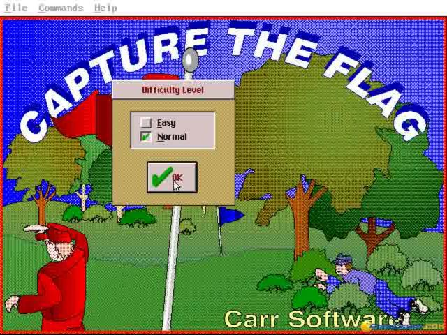 Capture the Flag - title cover