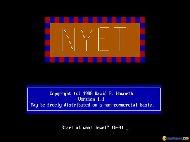 Nyet - title cover