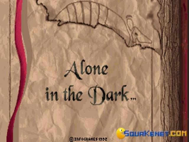 Alone in the Dark - title cover