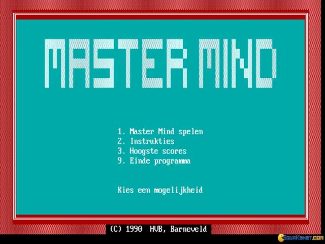 Master Mind - title cover