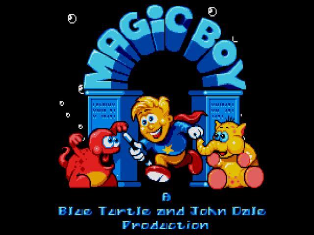 Magic Boy - title cover