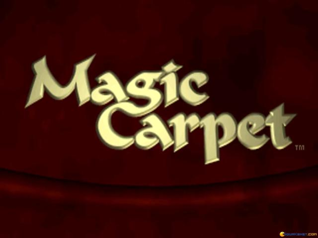Magic Carpet - game cover
