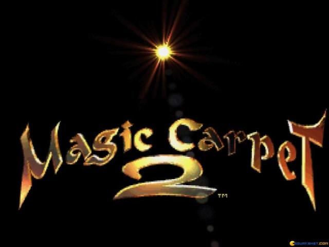 Magic Carpet 2 - title cover