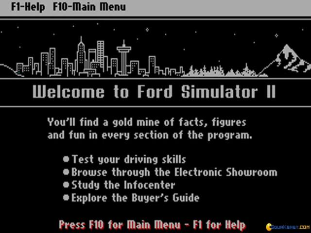 Ford Simulator 2 - title cover