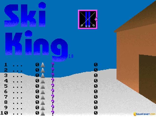 Ski King - title cover