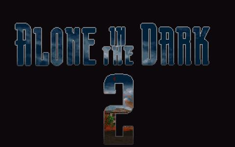 Alone in the Dark 2 - game cover