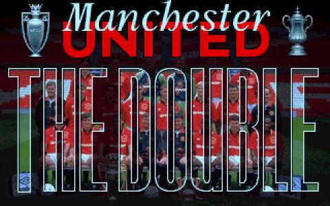 Manchester United: The Double - title cover