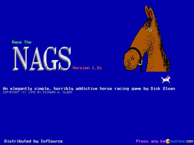 Race the Nags - game cover