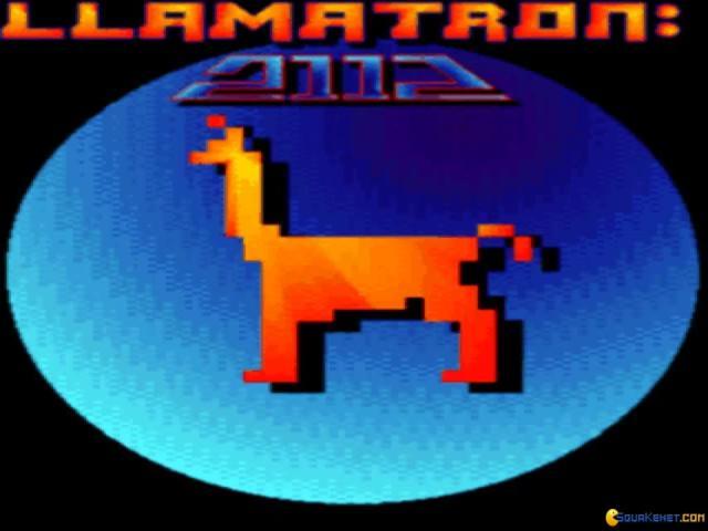 Llamatron 2112 - title cover