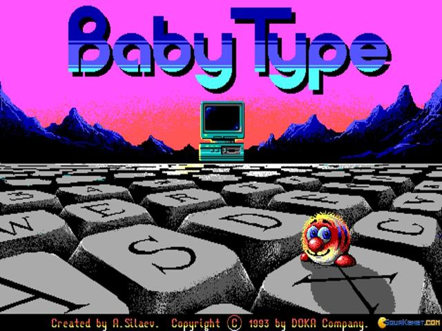 Baby Type - game cover