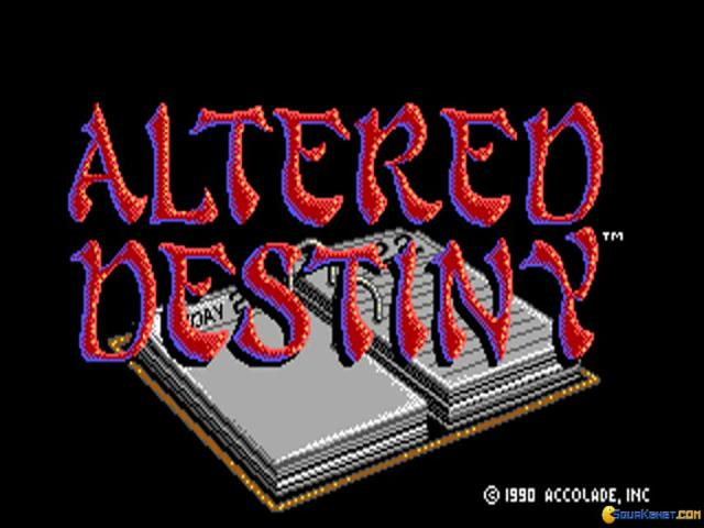 Altered Destiny - title cover