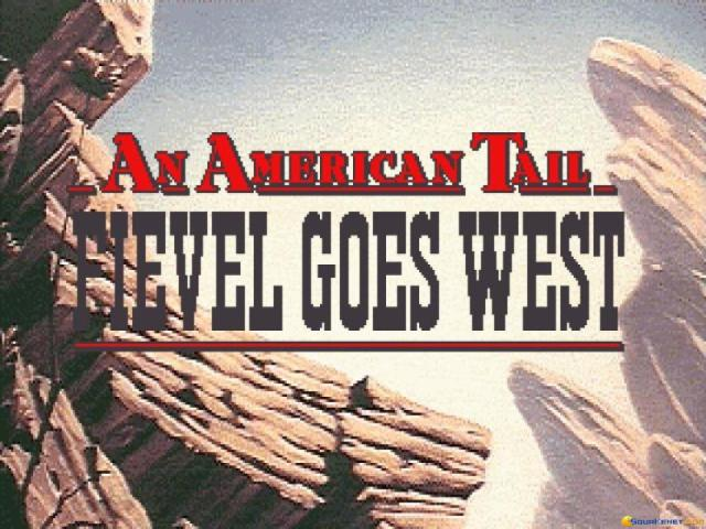 An American Tail - Fievel Goes West - title cover