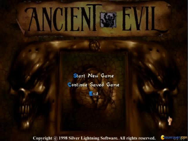 Ancient Evil - game cover