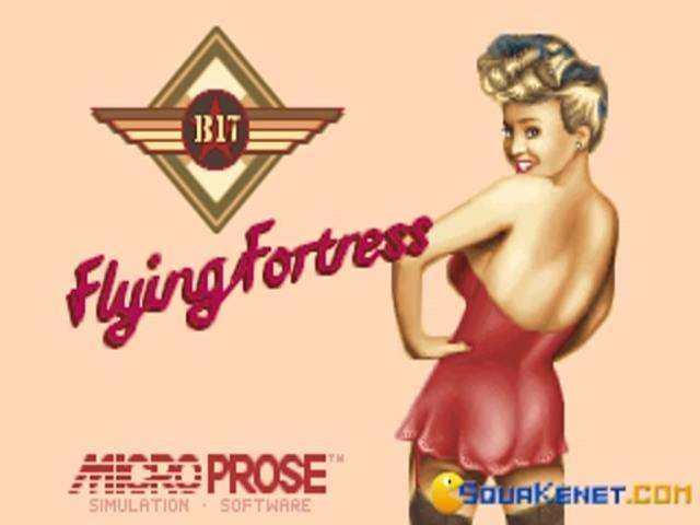 B-17 Flying Fortress - game cover