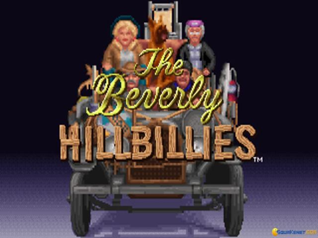 Beverly Hillbillies, The - game cover