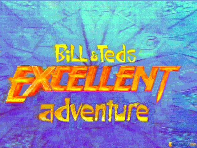 Bill and Teds Excellent Adventure - game cover