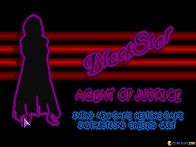 Blackstar - Agent of Justice - title cover