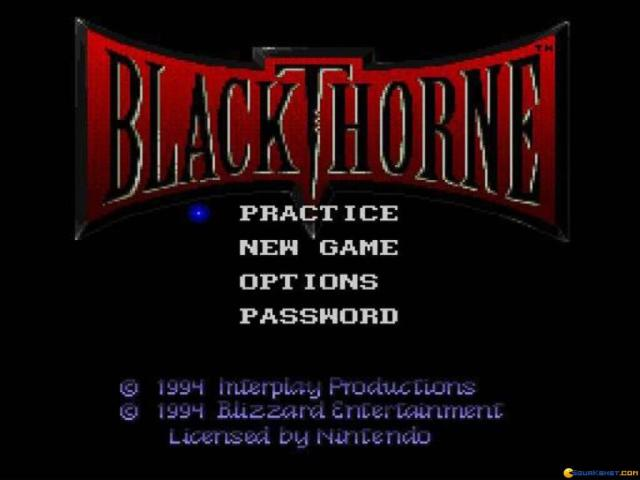 Blackthorne - game cover