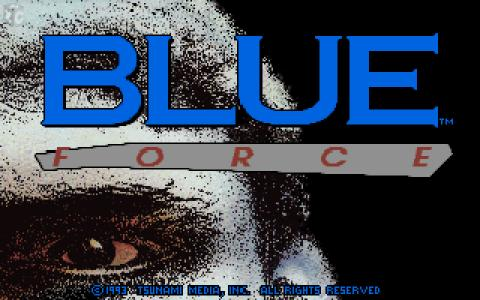 Blue Force - title cover