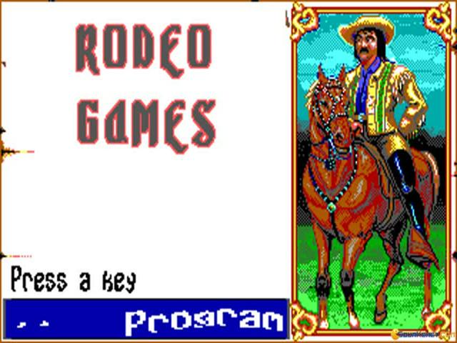 Buffalo Bills Rodeo Games - game cover