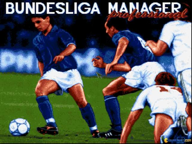 Bundesliga Manager Professional - title cover