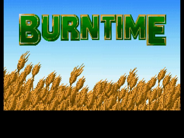Burntime - game cover