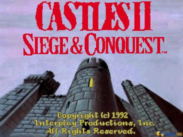 Castles 2 - Siege and Conquest - game cover