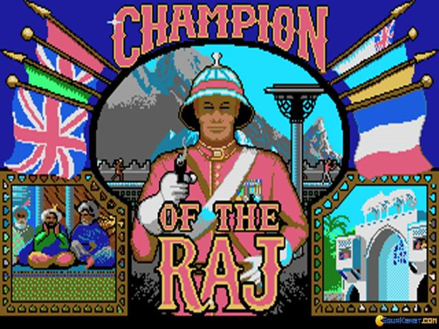 Champion of the Raj - game cover